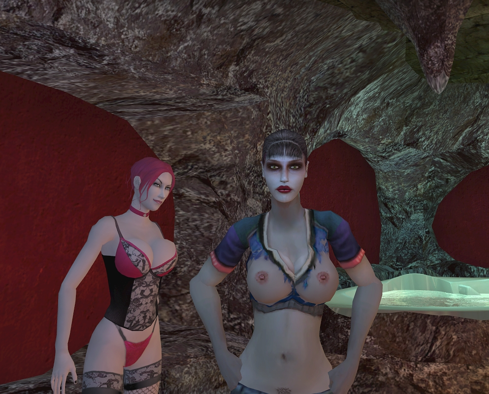vampire masquerade clothes the bloodlines Spooky's house of jumpscares hospital