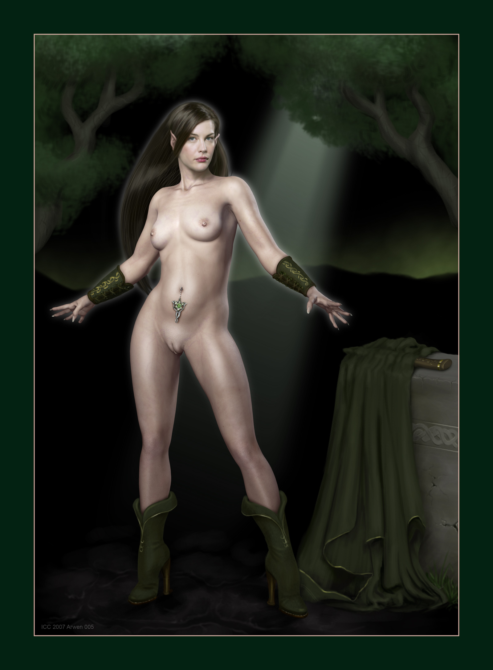 lord rings orc female the of Dark souls cursed rotted greatwood
