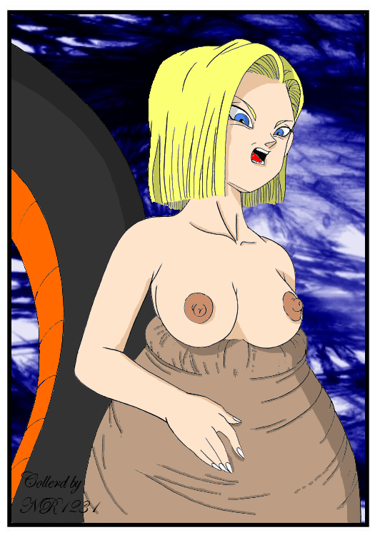 18 android dragon z ball porn Cleft of venus without hair