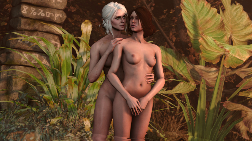 ciri the 3 naked witcher Highschool of the dead images