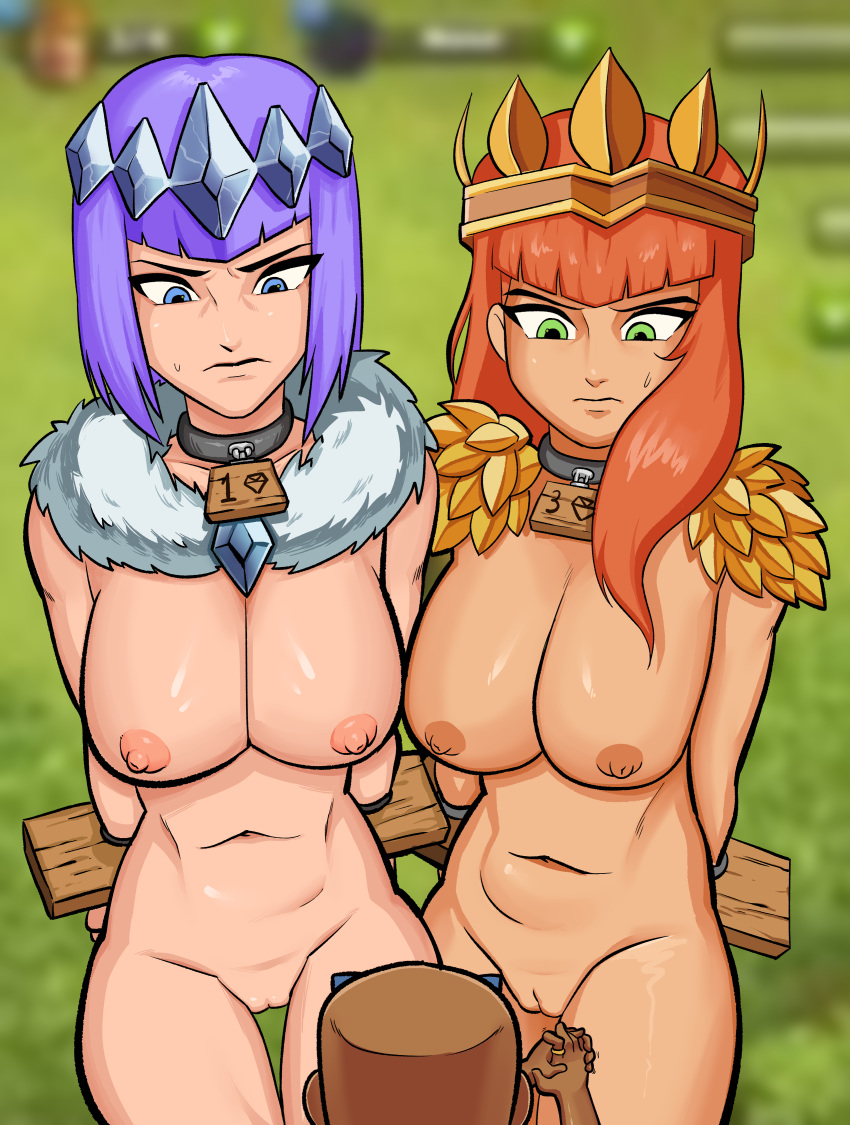 from clash clans witch of Namanaka_hyaku_percent!