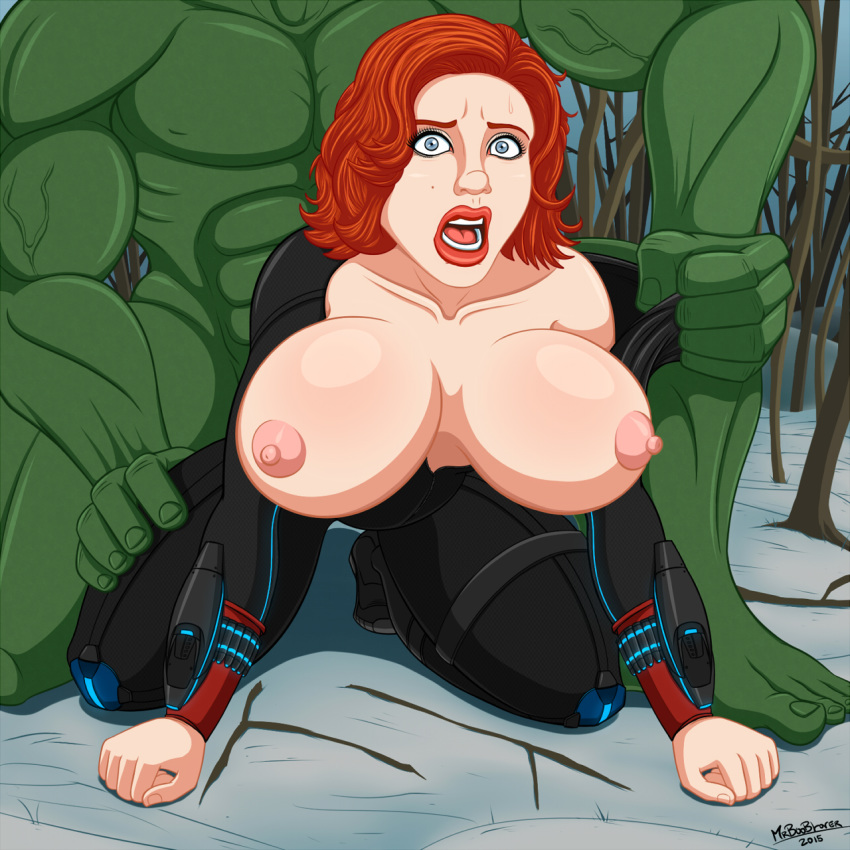 and black hulk widow sex Ling-ling drawn together