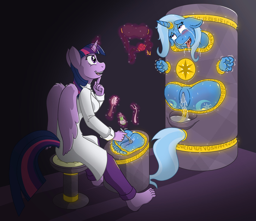 tickle pony little torture my Merlina sonic and the black knight