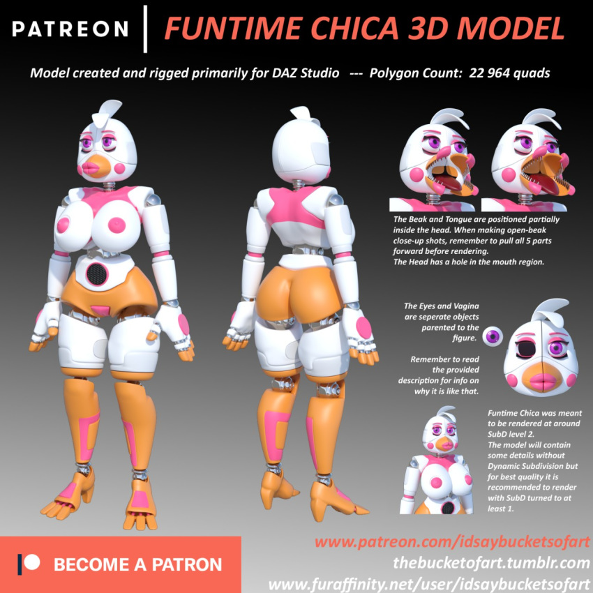 freddy's chica at funtime nights five Jay-marvel