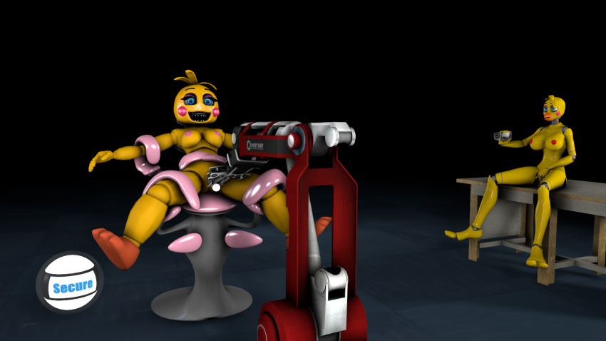 mangle chica fnaf or toy The puppet from five nights at freddy's