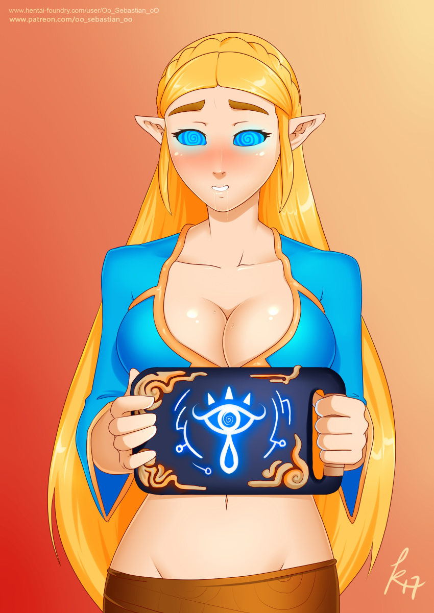 the kass the of zelda wild legend breath of King and diane seven deadly sins